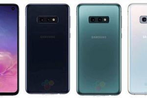 Lộ ảnh chính thức Galaxy S10E, 'câu trả lời' của Samsung đối với iPhone XR của Apple
