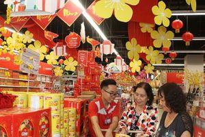 Hàng hóa tại siêu thị ổn định giá so với trước Tết Nguyên đán