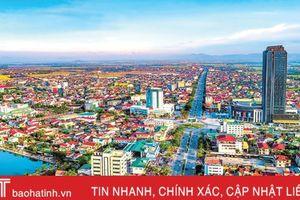 Thành phố Hà Tĩnh xứng tầm đô thị loại II