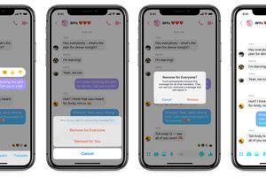 Facebook vừa cập nhật tính năng cho phép 'thu hồi tin nhắn' với người dùng Việt Nam
