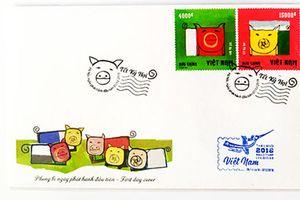 Họ hàng nhà heo trên tem Bưu chính Việt Nam