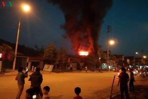 Liên tiếp xảy ra cháy nhà ở Bắc Kạn trong dịp Tết
