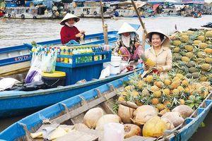 Sông ở miệt Hậu Giang...