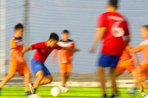 Trận bóng mừng xuân đặc biệt của đội bóng 'U23 Trường Sa'