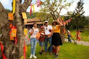 Sôi động Lễ hội Thần Tài tại Công viên Suối khoáng nóng Núi Thần Tài Đà Nẵng