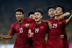 Tuyển Việt Nam thăng hạng trên bảng xếp hạng FIFA 2019