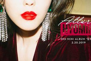 Hyomin (T-ara) sẵn sàng xuất xưởng mini album thứ 3: Tựa đề đĩa nhạc, title track, thời điểm được công bố