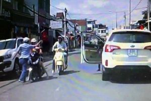 Công an thông tin vụ tài xế ô tô tát phụ nữ sau va chạm giao thông