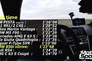 BMW M850i 'đánh bại' M3 Competition tại Magny-Cours