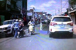 Danh tính tài xế 'côn đồ' tát phụ nữ sau va chạm giao thông