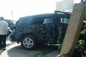 Ô tô biển xanh bị tai nạn khiến 3 người chết thuộc Kho bạc nhà nước Thanh Hóa