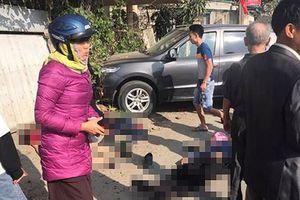 Nguyên nhân ban đầu vụ tai nạn khiến 3 người trên xe biển xanh chết