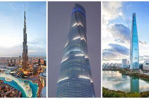 Thiết kế độc đáo của 5 tòa nhà cao nhất thế giới