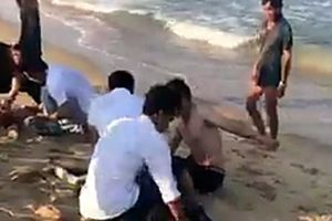 4 nạn nhân đuối nước tử vong trong lúc tắm biển đều là học sinh