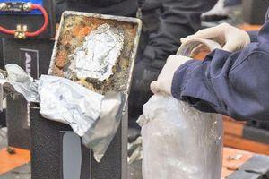 Cảnh sát Mỹ phát hiện 1,7 tấn ma túy đá ở cảng Los Angeles