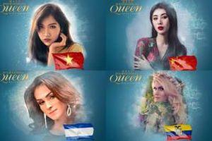 Vừa lên trang chủ, Đỗ Nhật Hà đã 'lấn át' dàn thí sinh hoa hậu chuyển giới quốc tế 2019
