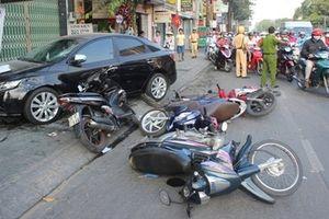 Bắc Giang: Va chạm với xe tải, 3 thanh niên tử vong thương tâm