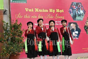 Sắc thái văn hóa Bắc Giang giữa Thủ đô Hà Nội