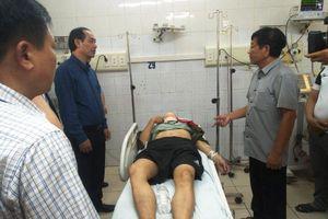 Thứ trưởng Lê Đình Thọ tới hiện trường chỉ đạo khắc phục hậu quả TNGT đặc biệt nghiêm trọng tại Thanh Hóa