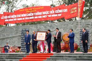 Thủ tướng trao bằng Di tích quốc gia đặc biệt Gò Đống Đa