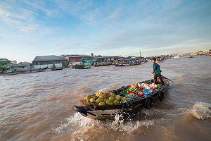 Yên ả sông nước miệt vườn Nam bộ