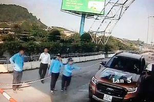 Xử lý nhóm người cố tình gây rối tại nhiều trạm BOT giao thông