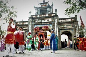 Độc đáo lễ rước Bát Xã tại lễ hội Cổ Loa
