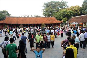 Tổng số khách du lịch đến Hà Nội dịp Tết Nguyên đán đạt 272.800 lượt khách, tăng 10,8% so với cùng kỳ năm trước