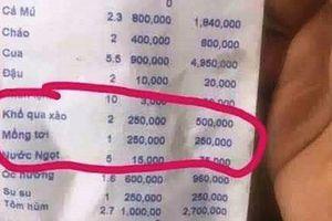 Khổ qua xào giá 250.000 đồng/dĩa tiếp tục gây 'bão' ở Nha Trang