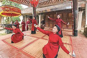 Để 'di sản văn hóa hát Xoan' trường tồn với thời gian