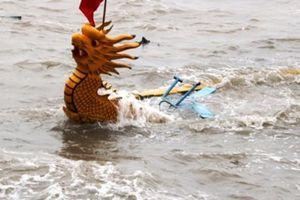 Tham gia đua thuyền rồng Đồ Sơn, một người tử vong