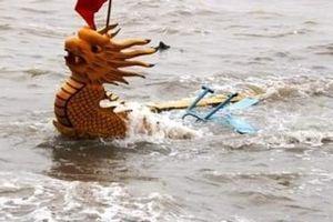 Hải Phòng: Một vận động viên đua thuyền ngã xuống biển tử vong