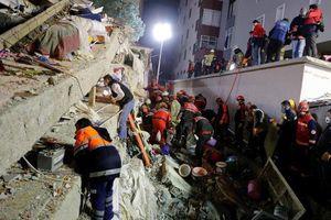 Sập chung cư ở Thổ Nhĩ Kỳ: Số người chết tăng lên 21