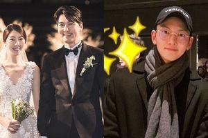 Lễ cưới Lee Pil Mo: Ji Chang Wook để mặt mộc đến dự, bộ tứ '4 chàng quý tử' tái ngộ