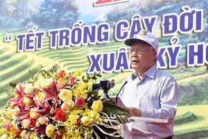 Tổng Bí thư, Chủ tịch nước Nguyễn Phú Trọng phát động Tết trồng cây