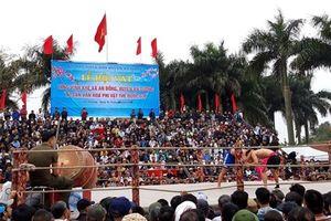 Hàng nghìn người chen chân tham dự lễ hội vật độc đáo nhất Hải Phòng