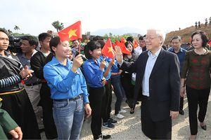 Tổng Bí thư, Chủ tịch nước Nguyễn Phú Trọng phát động Tết trồng cây tại tỉnh Yên Bái