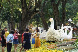 Hội hoa Xuân Tao Đàn đón hơn 1 triệu khách tham quan trong 12 ngày