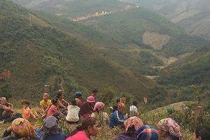 Phát hiện một xác chết bắt đầu phân hủy ở xã biên giới Nghệ An
