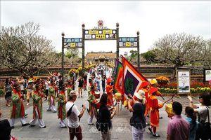 Khu di sản Huế đón hơn 50.000 lượt khách quốc tế trong dịp Tết