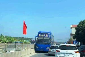 Tước giấy phép lái xe với tài xế chạy ngược chiều trên Quốc lộ 1A