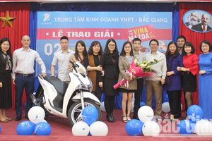 Thuê bao VinaPhone ở Bắc Giang trúng xe SH 125i