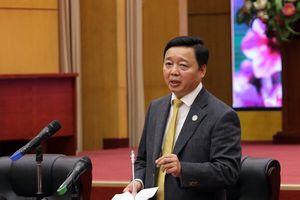 Bộ trưởng Trần Hồng Hà nêu 3 nhiệm vụ trọng tâm của ngành TN&MT phải triển khai ngay sau Tết Kỷ Hợi 2019
