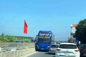 Thanh Hóa: Tước giấy phép lái xe tài xế chạy ngược chiều trên Quốc lộ 1A