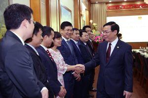 Phó Thủ tướng Vương Đình Huệ thăm, làm việc với Ủy ban Quản lý vốn Nhà nước tại doanh nghiệp