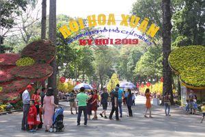 Hơn 1 triệu khách tham quan Hội hoa Xuân Tao Đàn 2019