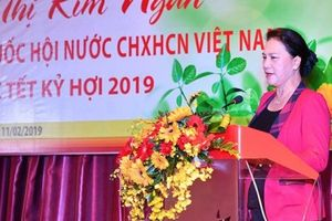 Chủ tịch Quốc hội chúc Tết khu vực kinh tế tư nhân dịp đầu Xuân