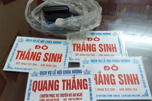 Hà Nội: Xử lý 6 'cò mồi' chèo kéo du khách tới chùa Hương