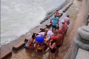 2 du khách Nga chết đuối ở biển Nha Trang