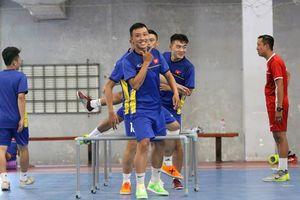 Tuyển Futsal Việt Nam hội quân trở lại sau kỳ nghỉ Tết